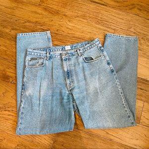 Vintage Calvin Klein Jeans easy fit denim 34x32